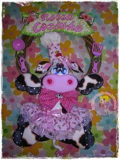 Qmimos - Fazendo Arte brincando: Oficina de Vaquinhas - Começa dia 27/04/15 não fique fora dessa fofura que ter uma Mimosa em sua cozinha