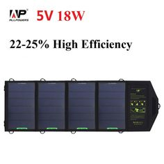 ALLPOWERS 18W 5V Solar Panel Charger for Cell Phone , Other <font><b>Smartphones</b></font> and Tablets Price: PKR 8373.75315 | Pakistan