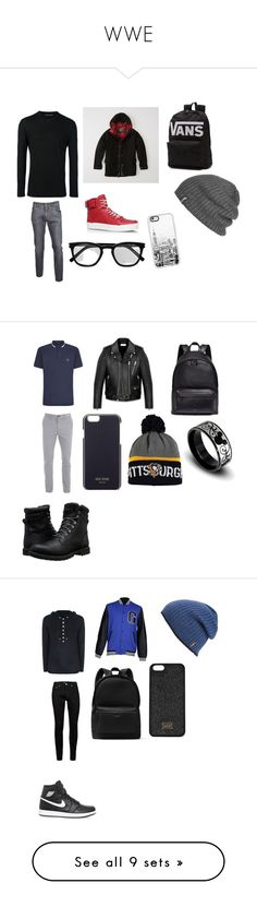 """""""WWE"""" by courtneybug247 ❤ liked on Polyvore featuring Neil Barrett, Abercrombie & Fitch, Dolce&Gabbana, Gucci, Vans, Outdoor Research, Yves Saint Laurent, Casetify, men's fashion and menswear"""