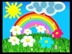 English Nursery Rhymes Children Songs - The Rainbow Song - Animation Rhymes