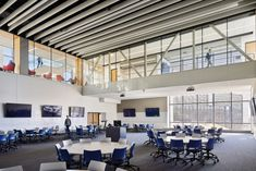 CannonDesign in association with Gould Evans designed the Earth, Energy, and Environmental Center at the University of Kansas in Lawrence, Kansas. The new Earth, Energy … Technology Transfer, University Of Kansas, Applied Science, New Earth, High Quality Furniture, Environment, Education, Arrow Keys, Close Image