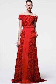 J. Mendel fashion collection, pre-autumn/winter 2014