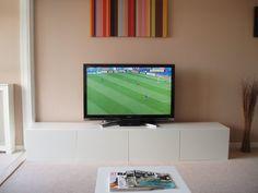 ikea besta tv unit w storage