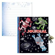 Cool robot journal: A great ways to encourage handwriting practice