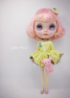 Custom blythe by rabbitbearhouse on Etsy