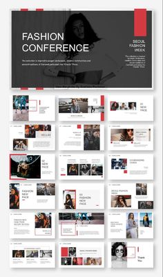 Powerful & Fashion Model Presentation Template – Original and high quality PowerPoint Templates do Template Web, Powerpoint Design Templates, Ppt Design, Slide Design, Brochure Design, Layout Design, Logo Design, Website Template, Booklet Design