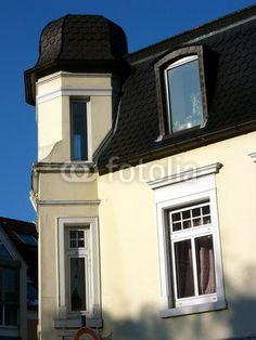Liebevoll restauriertes altes Eckhaus in Oerlinghausen im Teutoburger Wald bei Bielefeld in Ostwestfalen-Lippe