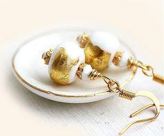 Maya-Honey / Zlaté náušnice