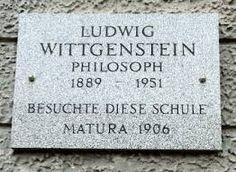 Image result for wittgenstein plaques