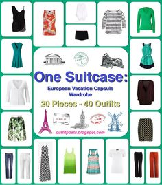 What a useful guide!  I always pack too much, and would love to learn how to pack light, in one bag! :)
