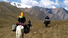 Horse-trekking in Kerege-Tash Valley Kyrgyzstan, must do!!