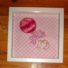 Baby button craft