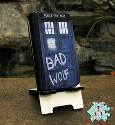 FREE SHIPPING Doctor Who Tardis Bad Wolf  iPhone by CustomizeMeAz