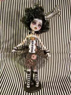 The Clock-Work Princess Doll-MH doll repaint and hand made outfit by Wicked Paper Dolls OOAK