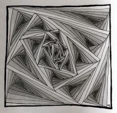 The MoniTangle Technique: My Tangles
