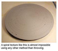 Ceramic Arts Daily – Using a Pottery Wheel to Make a Slab