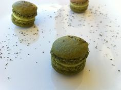Green Tea Macarons.
