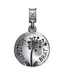 Nomades - Military Brat - sterling silver Dandelion with Military Brat etched on the front. Military Brat, Army Brat, Military Families, Airforce Wife, Usmc, Army Mom, Charm Jewelry, Jewlery, Shadow Box