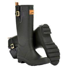Women's Joules Rain Boots - Black 8, Variation Parent