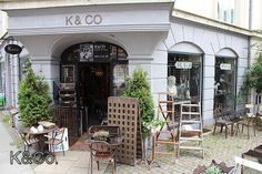 Antique store in Copenhagen
