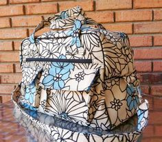 Swoon's Stella Travel Bag – Sew and Sell PDF Pattern Free Serger Lesson from Amy Alan