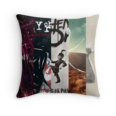 My Chemical Romance Album Art Throw Pillow by MissNothing on: http://www.redbubble.com/people/missnothing/works/12283464-my-chemical-romance-album-art?country_code=US&p=throw-pillow&size=small&type=cover-only&utm_campaign=shopping&utm_medium=google_products&utm_source=google&gclid=COiWo4aRlcMCFZAvgQodmUIACQ