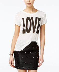Fair Child Love Graphic T-Shirt $39.99 Fair Child brings a charming message to this casual T-shirt with a large love graphic at the front.