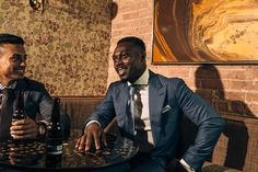 Daniel George two piece suit Blind Barber, Custom Tailored Suits, Bespoke Clothing, Fine Men, Shirt Dress, Blazer, Jackets, Shirts, Clothes