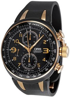 Oris TT3 Chronograph Automatic Mens Watch. List price: $3900 #luxurywatch #Oris-swiss Oris Swiss Watchmakers  Pilots Divers Racing watches #horlogerie @calibrelondon