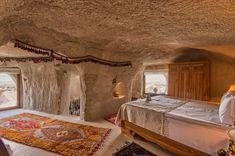 The only Relais & Chateaux member of Turkey, Museum Hotel is set in a unique area of Uchisar with the restorations of historic ruins. Cave Hotel, Hotels In Turkey, Museum Hotel, Honeymoon Hotels, Underground Cities, Spa Tub, Duplex House, Comfy Bed, Cappadocia