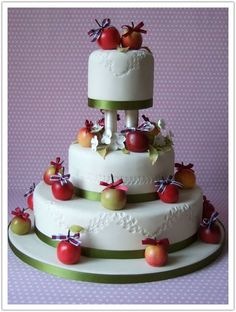 Top Fruit Wedding Cakes 4