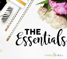 Already planning for next school year?  Here's a list of essentials for any speech therapist!! With Amazon links to post it notes, organizers, pens and more, any first year or seasoned teacher can be prepped for a fantastic 2018-2019 school year!