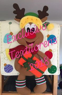 Ya tenemos nuestros nuevos cubresillas 2018Todos los sábados de 10 a 1 pmTe esperamos Reno, Diy And Crafts, Minnie Mouse, December, Canvas, Nova, Christmas, Christmas Lingerie, Christmas Wishes
