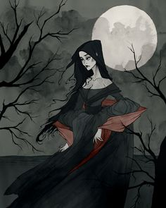 Annabel Lee by AbigailLarson.deviantart.com on @deviantART I just bought this print on Society6 and would LOVE to have it as a tattoo!
