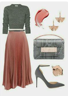 So nice, I wish my wide hips would look good with wrinkles … – Hijab Fashion Modest Fashion, Hijab Fashion, Fashion Outfits, Womens Fashion, Fashion Skirts, Fashion Ideas, Ladies Fashion, Fashion Trends, Classy Outfits