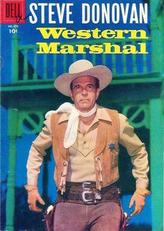 STEVE DONOVAN - WESTERN MARSHAL - Starring Douglas Kennedy