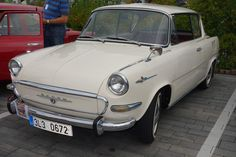 Skoda 1000 MBX Veteran Car, Cars And Motorcycles, Vintage Cars, Classic Cars, Clever, Passion, Trucks, Bike, Vehicles