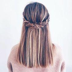 """82 Me gusta, 5 comentarios - Peinados TrèsChouette (@treschouette1) en Instagram: """"Inspiración me haría esto todos los días! #inspiration #peinados #peinadossencillos…"""""""