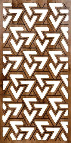 Pinecrest, Inc. Laser Cut Screens, Laser Cut Panels, Geometric Stencil, Geometric Designs, Gate Design, Door Design, Tile Patterns, Textures Patterns, Jaali Design