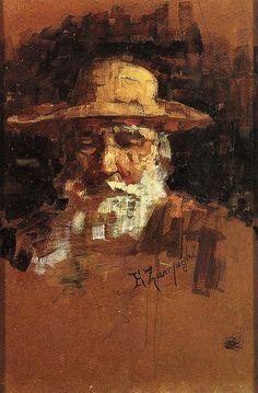 Testa di vecchio -  EUGENIO ZAMPIGHI (Modena, 1859 – Maranello, 1944)   #TuscanyAgriturismoGiratola