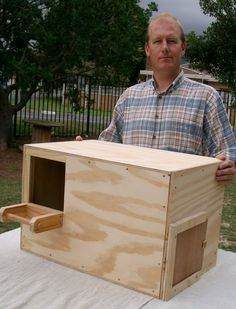 Barn Owl's House  Cost: R750 for DIY flat-pack kit