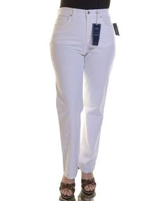 Charter Club Classic Kate Straight-Leg Jeans, White Wash >>> You can get more details by clicking on the image.