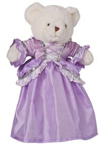 Rapunzel Doll Dress Ruffle Style-This perfect match to our Rapunzel dress up has a purple and glittered velvet bodice with beautiful sequin trim and purple criss cross trim and accents Something Mom would have made me in the Girls Dress Up, Dress Up Outfits, Dress Up Costumes, Kids Outfits, Dresses, Rapunzel Dress Up, Disney Princess Rapunzel, Purple Teddy Bear, Teddy Bear Clothes