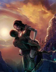 Manga Comics, Tali Mass Effect, Mass Effect Universe, Dc Anime, Romance, Science Fiction Art, Pics Art, Ancient Civilizations, Dragon Age