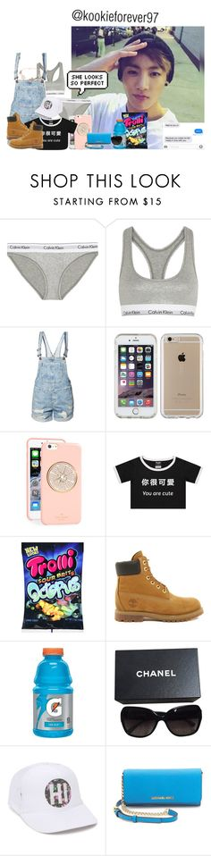 """""""~ your my perfect wife ~    -jungkook   @kookieforever97"""" by carla123wow ❤ liked on Polyvore featuring Calvin Klein Underwear, Noisy May, Speck, Kate Spade, Timberland, Chanel, Rip Curl, MICHAEL Michael Kors, Givenchy and btsjungkook"""