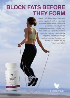 Block fats before they form with Forever Lean! For our full range of weight loss products visit. http://www.4everactive.flp.com/