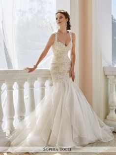 Sophia Tolli - Aprillia - Y21672 - All Dressed Up, Bridal Gown