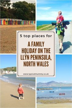 Our Top 5 places for Family Holidays on the Llŷn Peninsula, North Wales Best Uk Beaches, British Beaches, Travel With Kids, Family Travel, Castles In Wales, Family Holiday Destinations, Holidays With Kids, Uk Holidays, Family Days Out