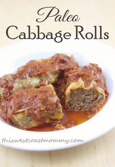 These grain-free and sugar-free cabbage rolls are deliciously paleo and Whole30 compliant.