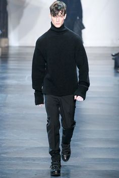 love high neck 3.1 Phillip Lim Fall 2015 Menswear - Collection - Gallery - Style.com